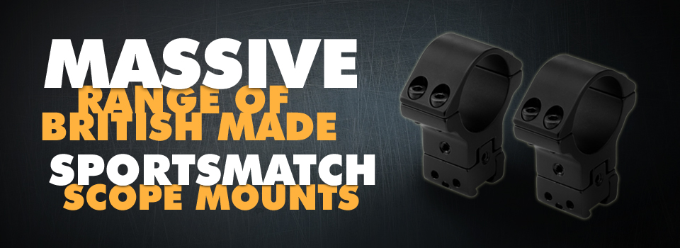 Click to shop for Sportsmatch Scope Mounts